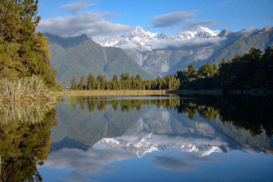 Lake Matheson am Fox Glacier